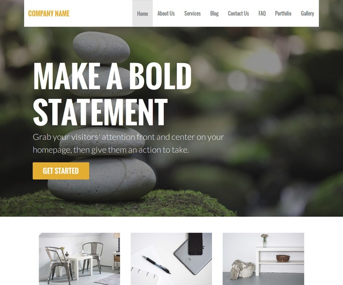 Stout Reiki WordPress Theme