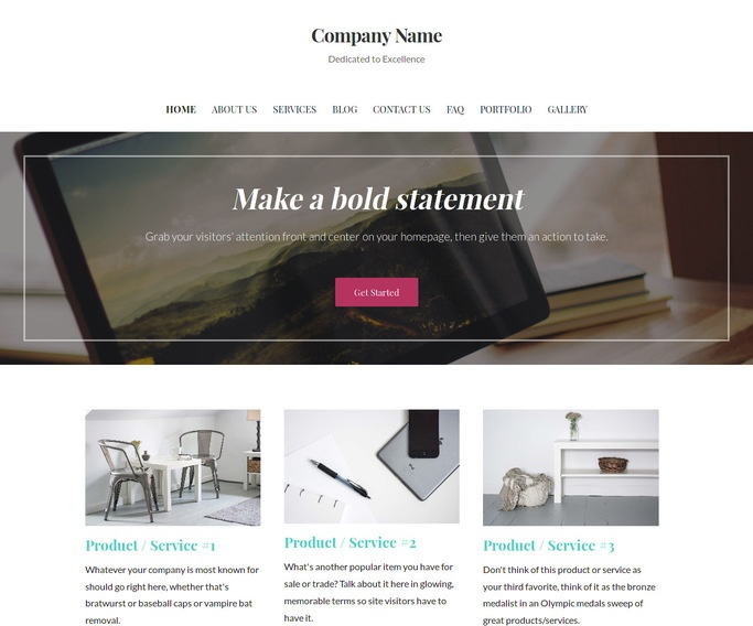 Uptown Style Research Foundation WordPress Theme