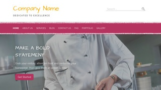 Scribbles Restaurant Equipment and Supplies WordPress Theme