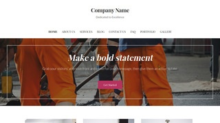 Uptown Style Road Construction Company WordPress Theme