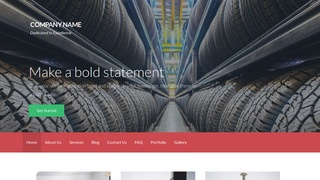Activation Rubber Products Supplier WordPress Theme