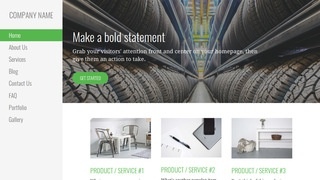 Escapade Rubber Products Supplier WordPress Theme