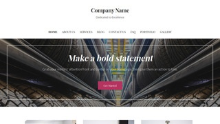 Uptown Style Rubber Products Supplier WordPress Theme