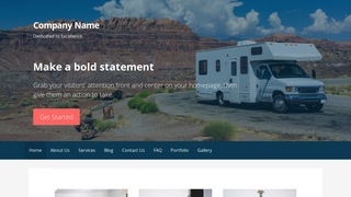 Primer RVs and Trailers WordPress Theme