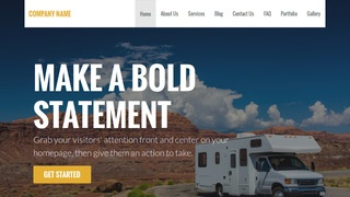 Stout RVs and Trailers WordPress Theme