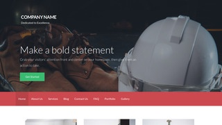 Activation Safety Equipment WordPress Theme
