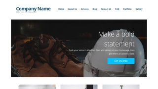 Ascension Safety Equipment WordPress Theme
