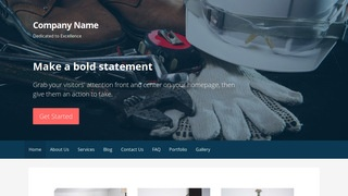 Primer Safety Equipment WordPress Theme