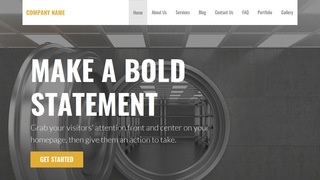 Stout Safes and Vaults WordPress Theme