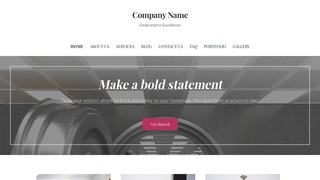 Uptown Style Safes and Vaults WordPress Theme