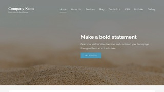 Lyrical Sand and Gravel Supplier WordPress Theme