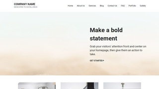 Mins Sand and Gravel Supplier WordPress Theme