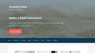 Primer Sand and Gravel Supplier WordPress Theme