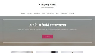 Uptown Style Sand and Gravel Supplier WordPress Theme