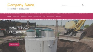 Scribbles Septic Tanks and Systems  WordPress Theme