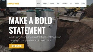 Stout Septic Tanks and Systems  WordPress Theme