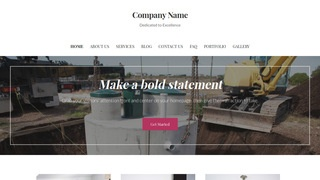 Uptown Style Septic Tanks and Systems  WordPress Theme