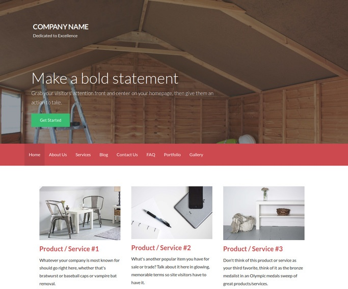 Activation Shed Builder WordPress Theme