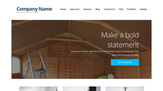 Ascension Shed Builder WordPress Theme