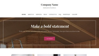 Uptown Style Shed Builder WordPress Theme