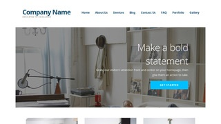 Ascension Shelving and Organization Supplies WordPress Theme