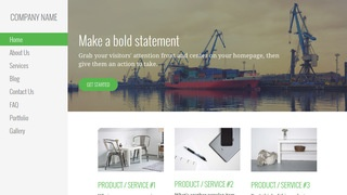 Escapade Shipyard WordPress Theme