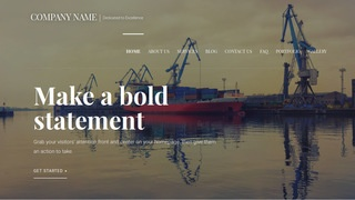 Velux Shipyard WordPress Theme
