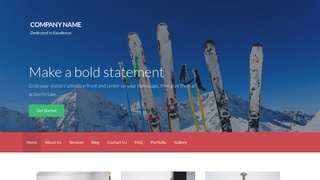 Activation Ski Resort WordPress Theme