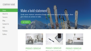 Escapade Ski Resort WordPress Theme