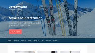 Primer Ski Resort WordPress Theme