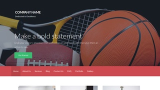 Activation Sports Equipment WordPress Theme
