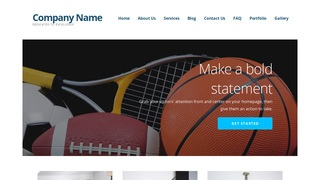 Ascension Sports Equipment WordPress Theme