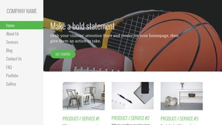Escapade Sports Equipment WordPress Theme