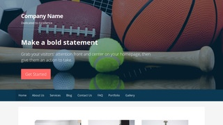 Primer Sports Equipment WordPress Theme