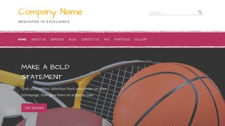 Scribbles Sports Equipment WordPress Theme