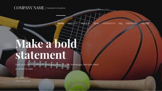Velux Sports Equipment WordPress Theme