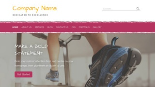 Scribbles Sports and Recreation Education  WordPress Theme