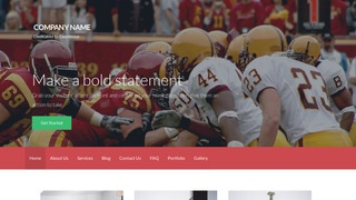 Activation Professional Sports Team WordPress Theme