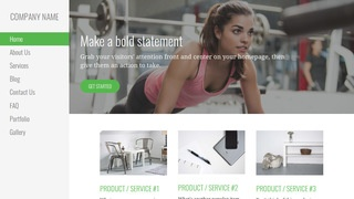 Escapade Sports Clothing and Apparel WordPress Theme