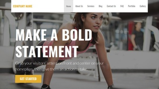 Stout Sports Clothing and Apparel WordPress Theme