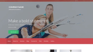 Activation Squash WordPress Theme