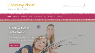 Scribbles Squash WordPress Theme