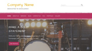 Scribbles Stage Lighting Equipment Supplier WordPress Theme