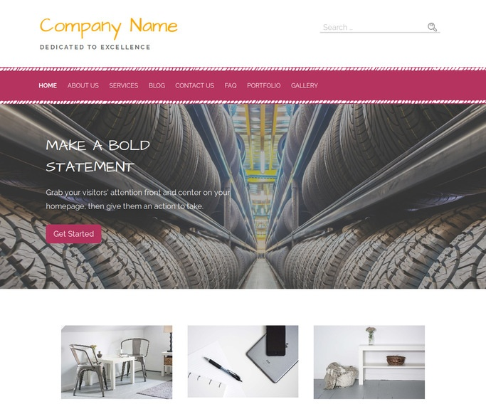 Scribbles Steel Drums WordPress Theme