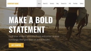 Stout Surfing WordPress Theme