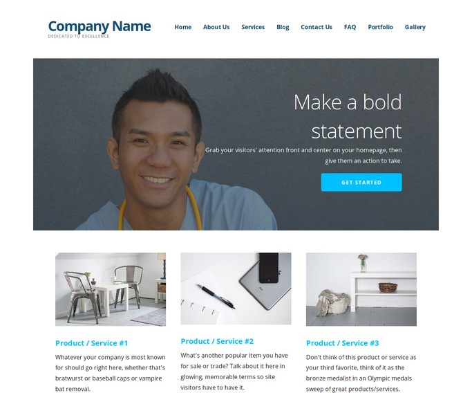Ascension Surgeon WordPress Theme