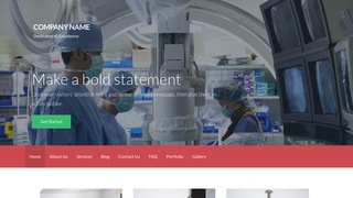 Activation Surgical Appliances and Supplies WordPress Theme