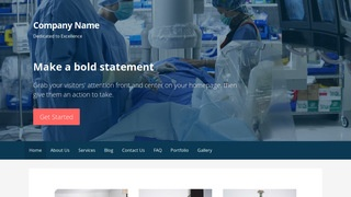 Primer Surgical Appliances and Supplies WordPress Theme