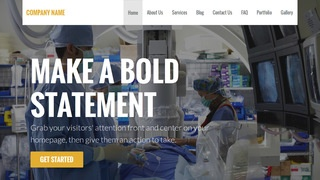 Stout Surgical Appliances and Supplies WordPress Theme