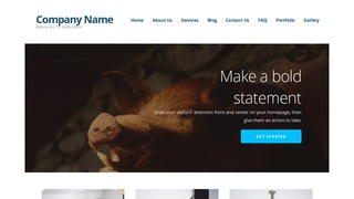 Ascension Taxidermist WordPress Theme